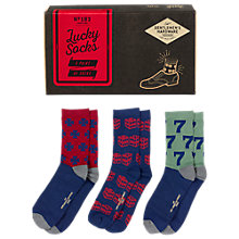 Buy Gentlemen's Hardware Lucky Socks, One Size Online at johnlewis.com