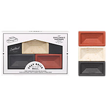 Buy Gentlemen's Hardware Mini Brick Soaps, Pack of 3 Online at johnlewis.com