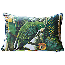 Buy Magpie Parrot Birds Cushion, Multi Online at johnlewis.com