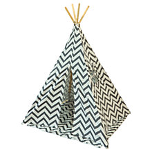 Buy Myweeteepee Grey Chevron Teepee Bundle Online at johnlewis.com