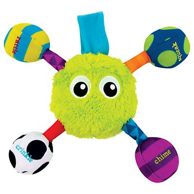 Sassy Grasp & Jitter Guy Developmental Toy