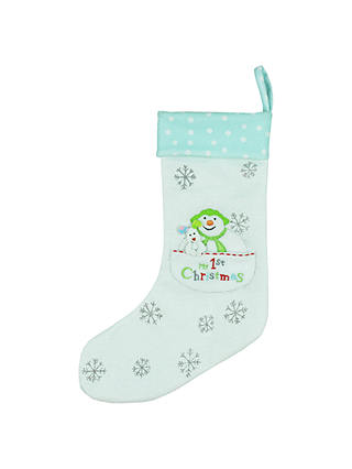 Buy The Snowman Christmas Stocking Online at johnlewis.com