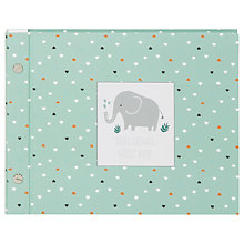 Buy John Lewis Elephant Baby Shower Guest Book Online at johnlewis.com
