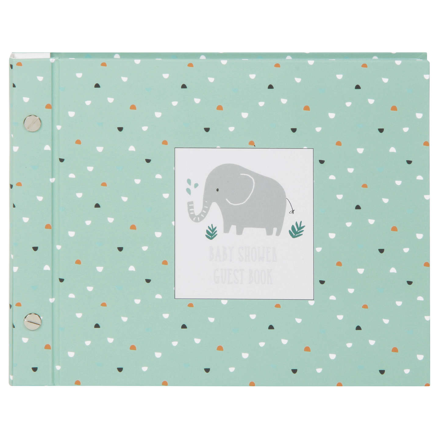 buyjohn lewis elephant baby shower guest book online at johnlewiscom