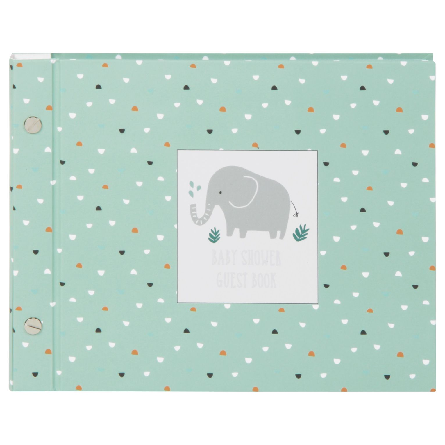 Baby Shower Gifts John Lewis ~ John lewis elephant baby shower guest book octer �