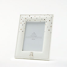 Buy John Lewis Baby Linen Photo Frame, Gold/Silver Online at johnlewis.com