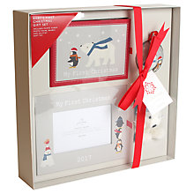 Buy John Lewis Baby My 1st Christmas Gift Set Online at johnlewis.com