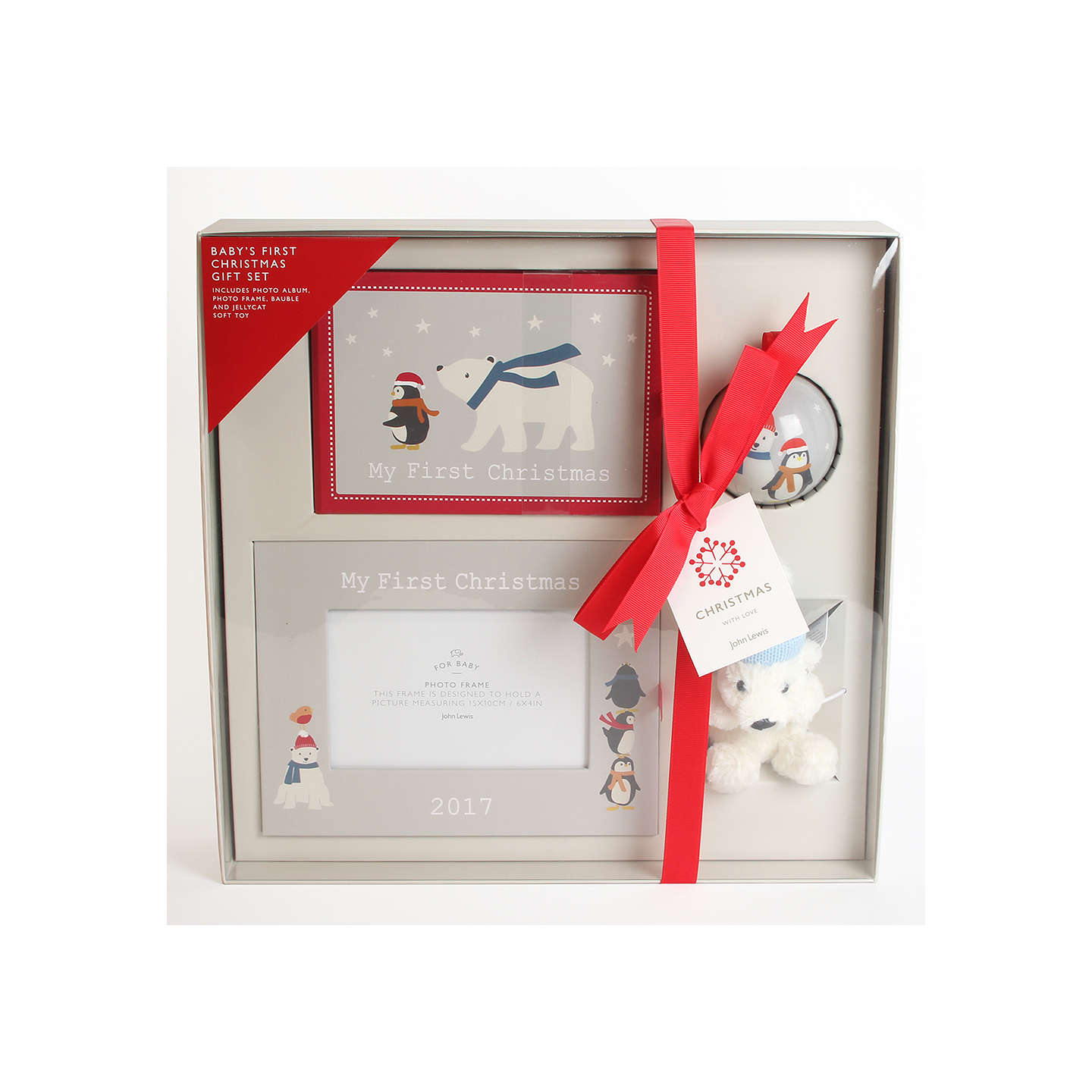 Buyjohn Lewis Baby My 1St Christmas Gift Set Online At