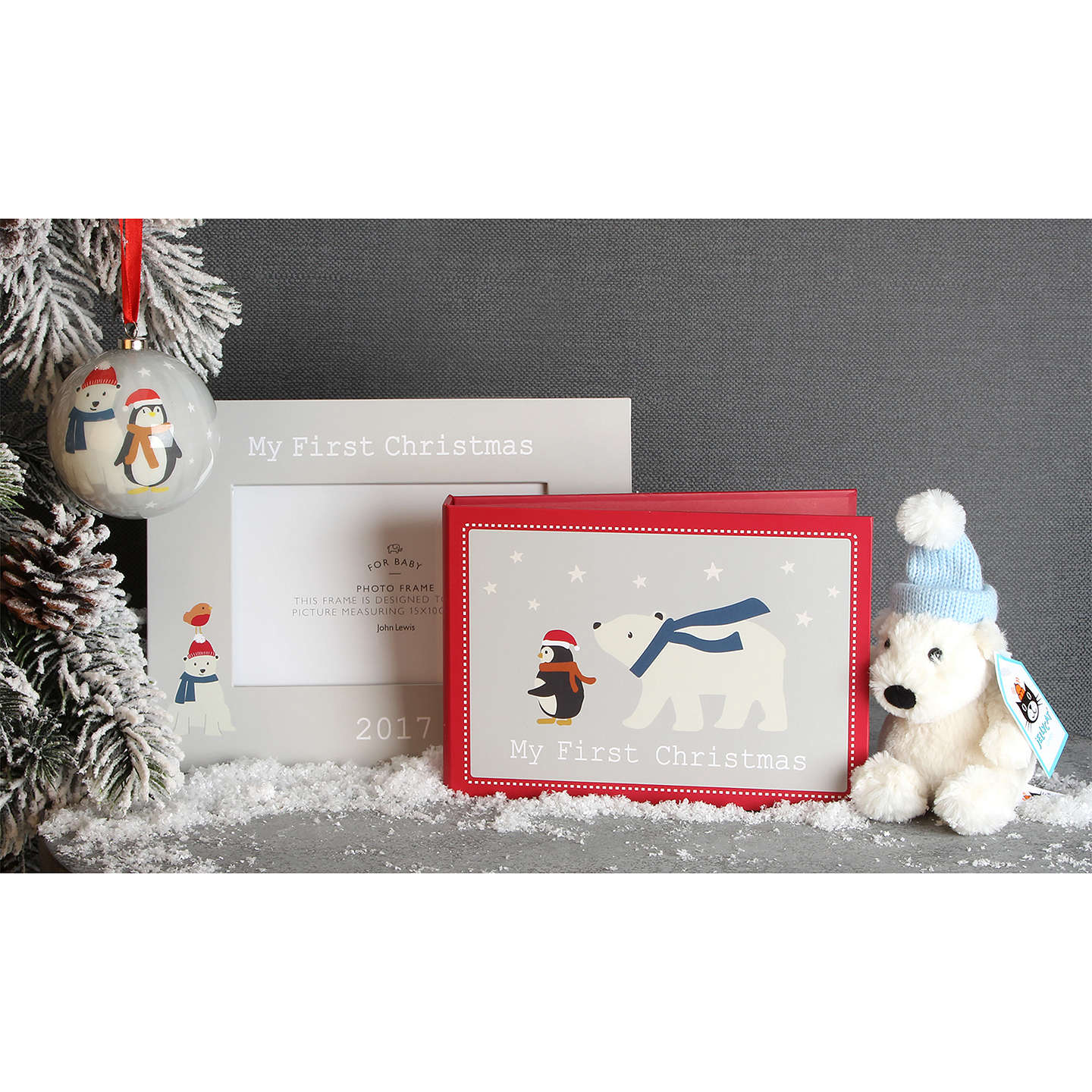 BuyJohn Lewis Baby My 1st Christmas Gift Set Online at johnlewis.com