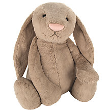 Buy Jellycat Extra Extra Large Bashful Bunny Soft Toy, Beige Online at johnlewis.com