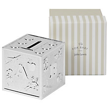 Buy John Lewis ABC Cube Money Box Online at johnlewis.com