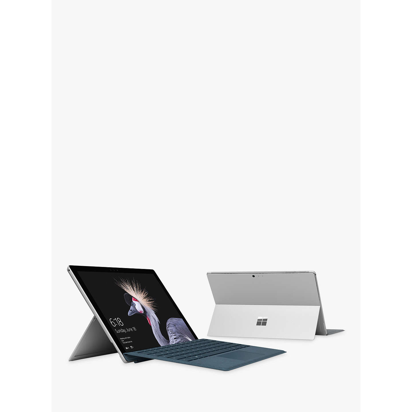 "BuyMicrosoft Surface Pro Tablet, Intel Core m3, 4GB RAM, 128GB SSD, 12.3"" Touchscreen Online at johnlewis.com"