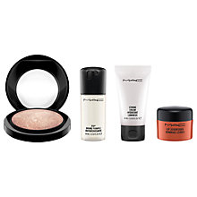 Buy MAC Summer Essentials Skincare Kit with Lip Scrubtious, Sweet Brown Online at johnlewis.com