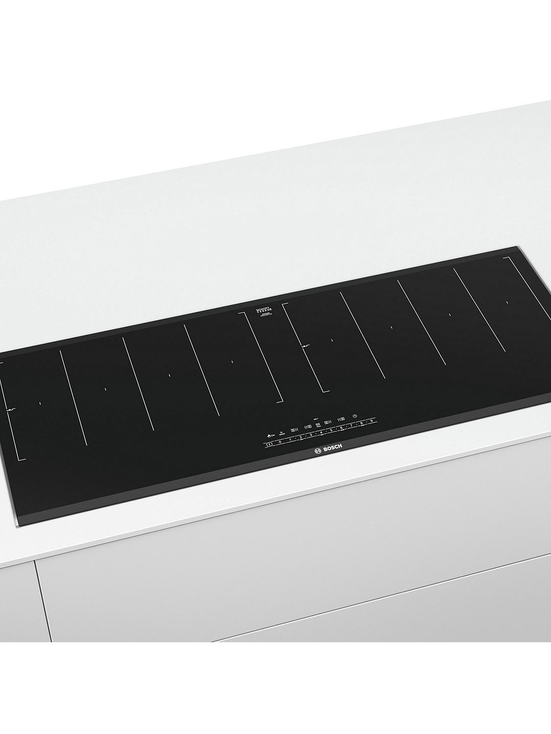 Buy Bosch PXX275FC1E Flex Induction Hob, Black Online at johnlewis.com