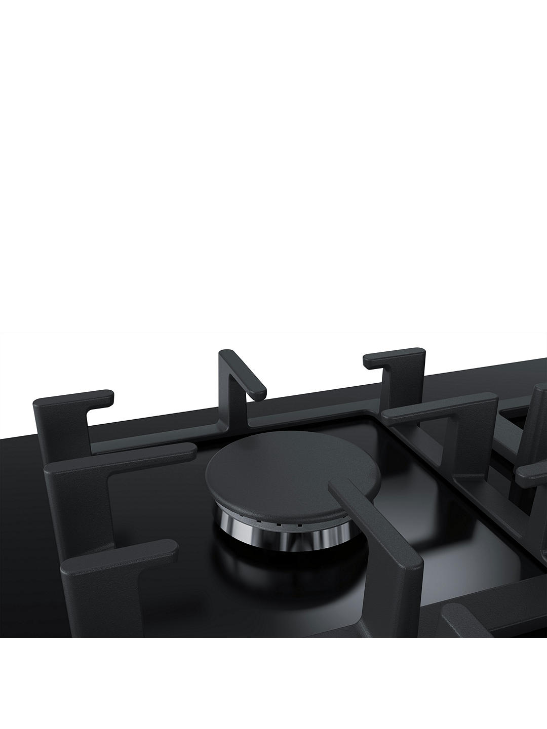 Buy Bosch PPQ7A6B90 75cm FlameSelect Gas Hob, Black Online at johnlewis.com