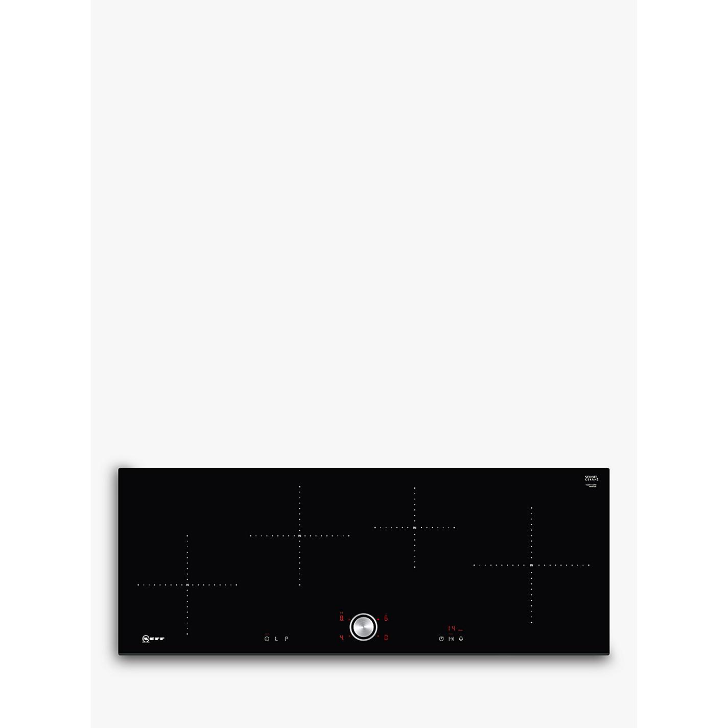 Buy Neff T40FT40X0 Induction Hob with TwistPad Black