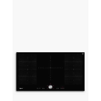 Image of Neff T59FT50X0 92cm TwistPad Control Five Zone Induction Hob With 2 FlexInduction Zones Black