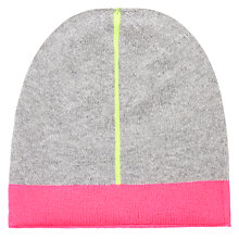 Buy Wyse London Stripe Cashmere Beanie Hat Online at johnlewis.com