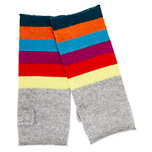 Buy Wyse London Rainbow Stripe Gloves Online at johnlewis.com