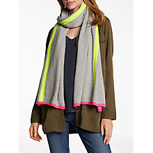 Buy Wyse London Neon Stripe Cashmere Scarf Online at johnlewis.com