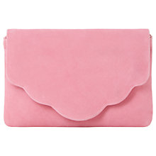 Buy Dune Bcurve Clutch Bag, Pink Online at johnlewis.com