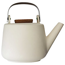 Buy VIVA Scandinavia Nicola 4 Cup Teapot, Large, 1L, White Online at johnlewis.com