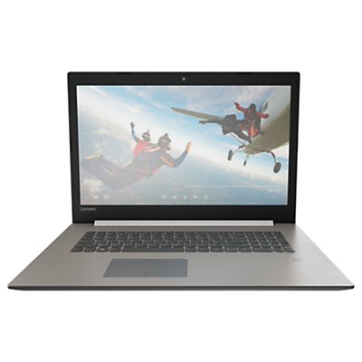 "Image of Lenovo IdeaPad 320 Laptop, Intel Core i3, 4GB RAM, 1TB, 17.3"", Platinum Grey"