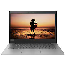 "Buy Lenovo IdeaPad 120S 81A5000VUK Laptop, Intel Pentium, 4GB RAM, 128GB SSD, 14"", Mineral Grey Online at johnlewis.com"