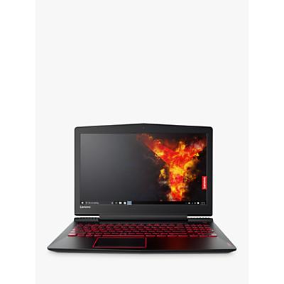 Image of Lenovo Legion Y520 Laptop, Intel Core i7, 8GB RAM, 1TB HDD + 128SSD, NVIDIA GTX1050, 15.6 Full HD, Black