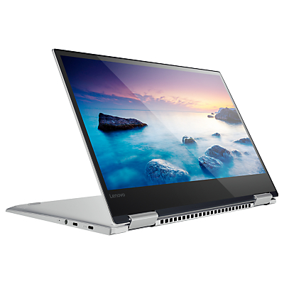 Image of Lenovo Yoga 720 Convertible Laptop with Active Pen, Intel Core i7, 8GB RAM, 256GB SSD, NVIDIA GeForce GTX 1050, 15.6 Full HD, Platinum