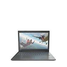 "Buy Lenovo IdeaPad 320 Laptop, AMD A12, 8GB, 1TB, 15.6"" Full HD, Onyx Black Online at johnlewis.com"
