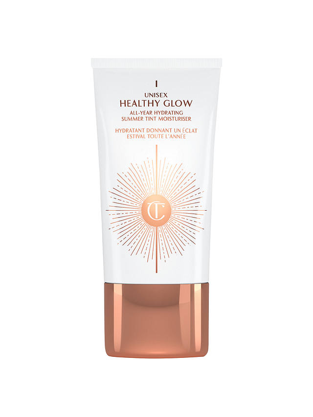 Buy Charlotte Tilbury Unisex Healthy Glow All-Year Hydrating Summer Tint Moisturiser, 40ml Online at johnlewis.com