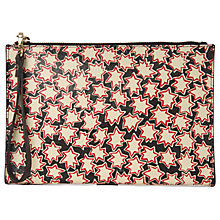 Buy Whistles Star Wristlet Bag, Red/Multi Online at johnlewis.com