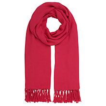 Buy Whistles Woven Scarf, Pink Online at johnlewis.com
