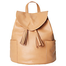 Buy White Stuff Classic Rucksack, Tan Online at johnlewis.com