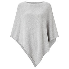 Buy Jigsaw Cashmere Blend Rolled Poncho Online at johnlewis.com