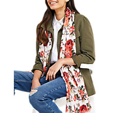 Buy Oasis Floral Bloom Print Scarf, Multi Online at johnlewis.com