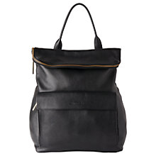 Buy Whistles Verity Large Leather Backpack Online at johnlewis.com