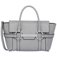 Buy Fiorelli Barbican Small Flapover Tote Bag, Belgrave Grey Casual Mix Online at johnlewis.com