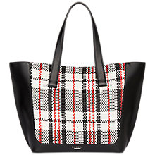 Buy Fiorelli Tisbury Large Tote Bag, Graphic Mono Check Online at johnlewis.com