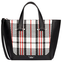 Buy Fiorelli Tisbury Mini Tote Bag, Mono Check Online at johnlewis.com