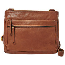 Buy Fossil Corey Leather Cross Body Bag Online at johnlewis.com