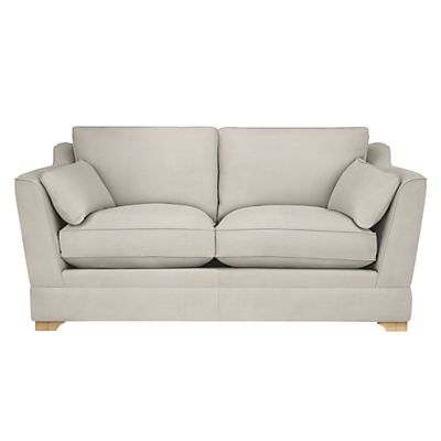 John Lewis Kensington Large 3 Seater Sofa, Light Leg, Victoria Pale Gold