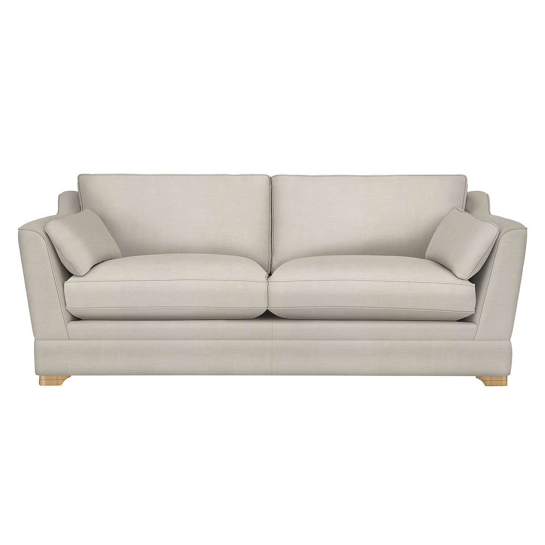 John Lewis Kensington Grand 4 Seater Sofa, Light Leg