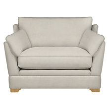 Buy John Lewis Kensington Snuggler, Light Leg, Victoria Pale Gold Online at johnlewis.com