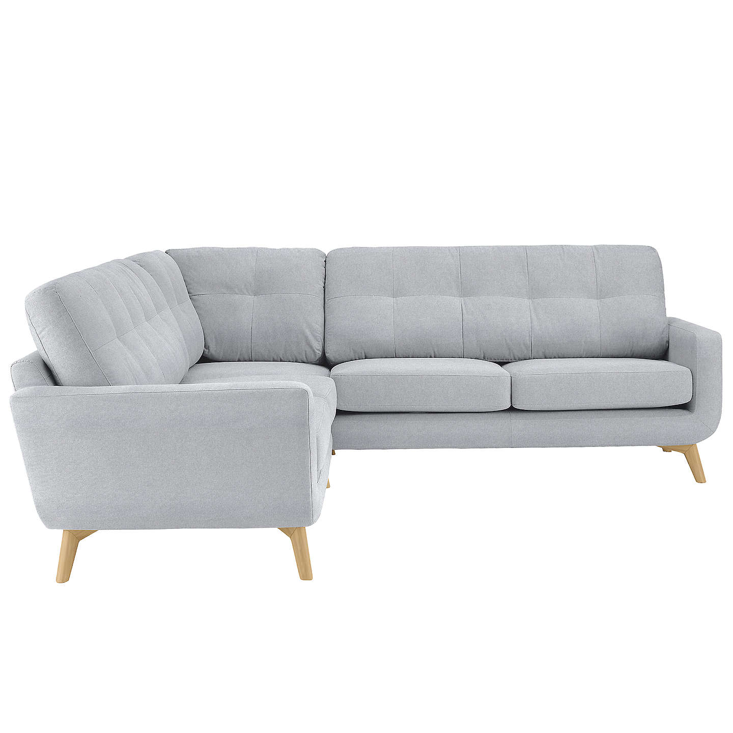 John Lewis Cooper Corner Sofa: John Lewis Barbican Corner End Sofa, Light Leg At John Lewis
