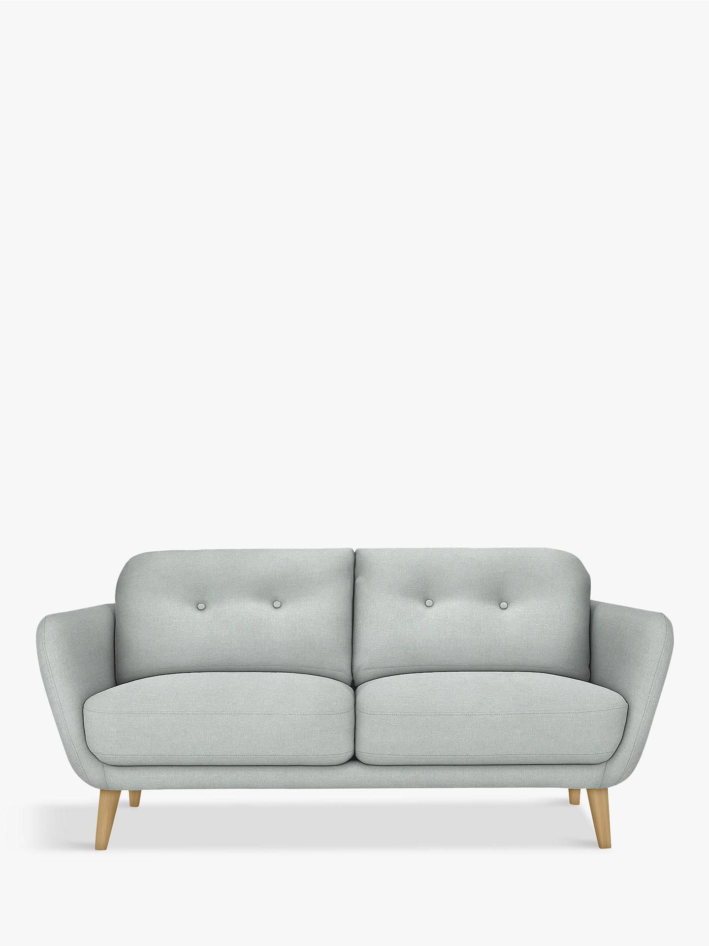 house by john lewis arlo medium 2 seater sofa light leg. Black Bedroom Furniture Sets. Home Design Ideas