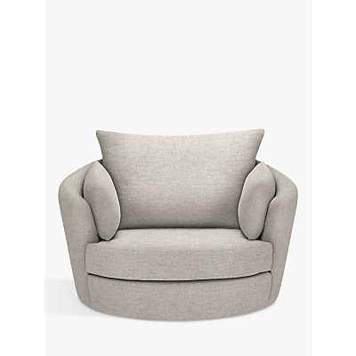 John Lewis & Partners Antonio Swivel Chair, Riley Storm