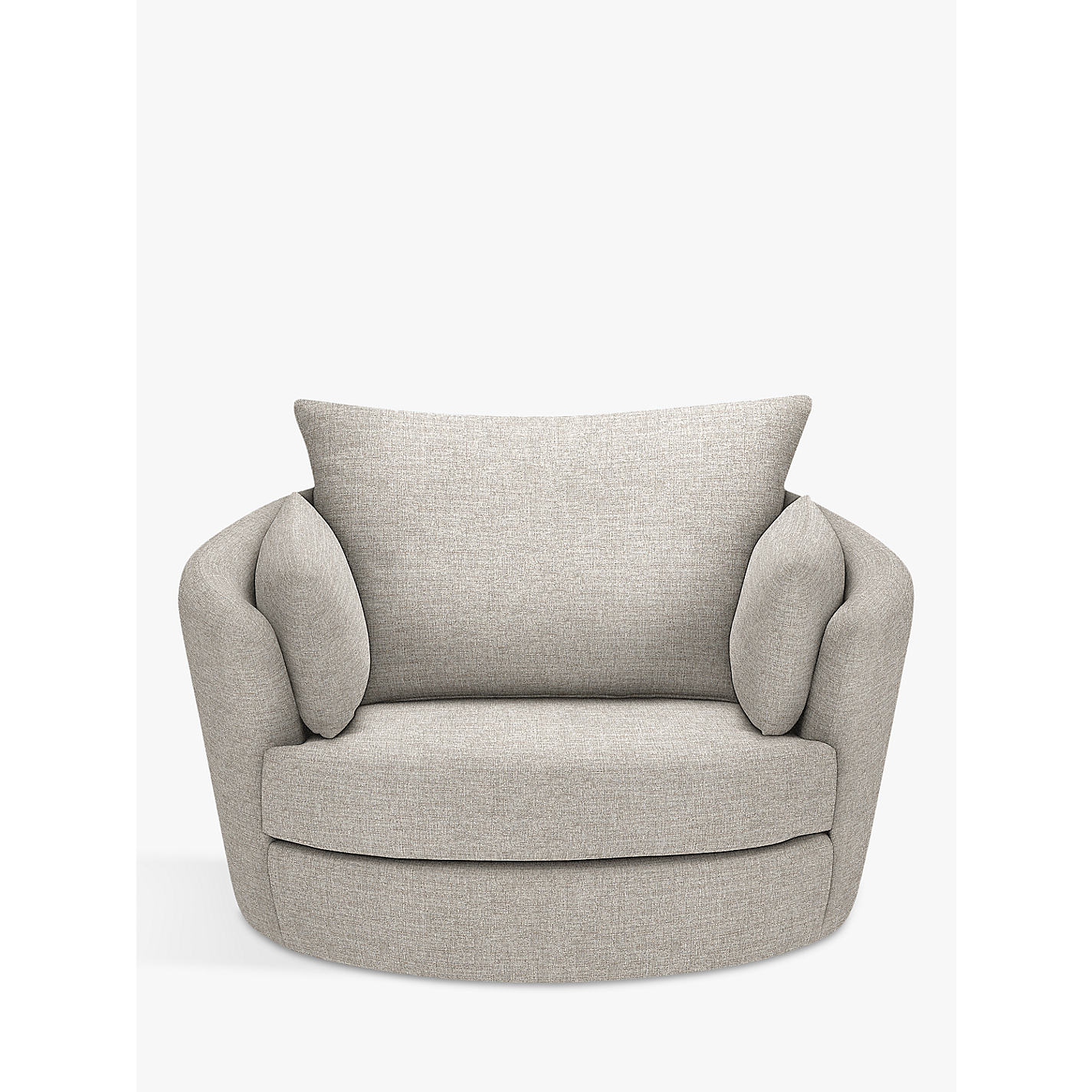 Buy John Lewis Antonio Swivel Chair Riley Storm