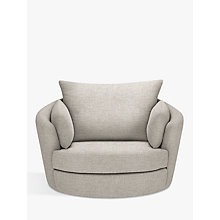 Buy John Lewis Antonio Swivel Chair, Riley Storm Online at johnlewis.com